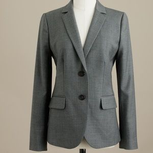 J. Crew Tall two-button Jacket in Super 120s Wool